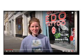 TATYOU Removable Tattoos zu Gast bei EDO Youtube