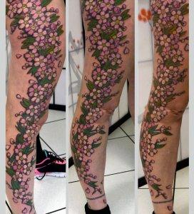 edo-tattoo-005-kirschblueten-bein