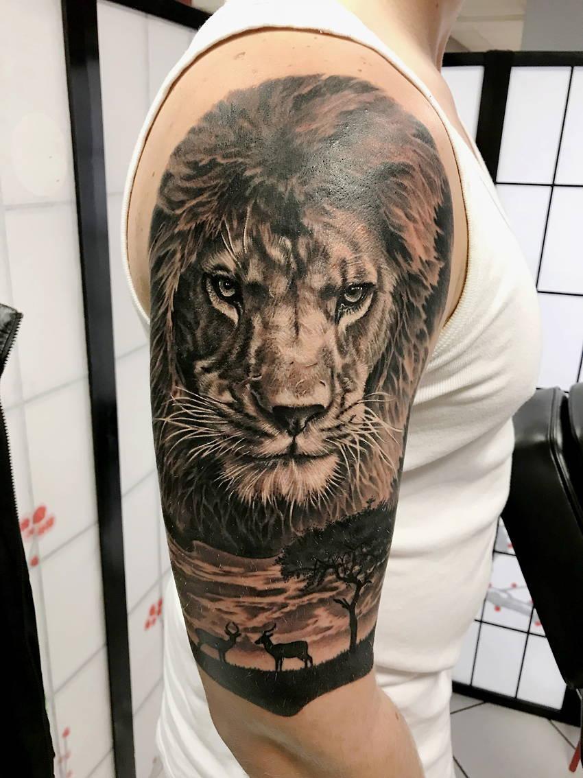 Nakata Black Grey Edo Tattoo Neuss
