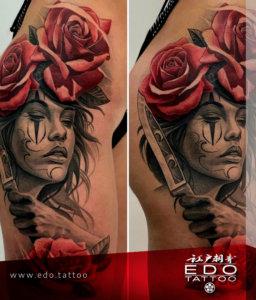 edo-tattoo-NAKATA-gesicht